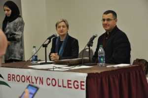 Judith Butler and Omar Barghouti at Brooklyn College