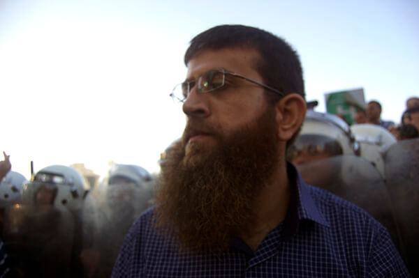 Famed Palestinian hunger striker Khader Adnan joins the youth protest against the Palestinian Authority and negotiations with Israel.