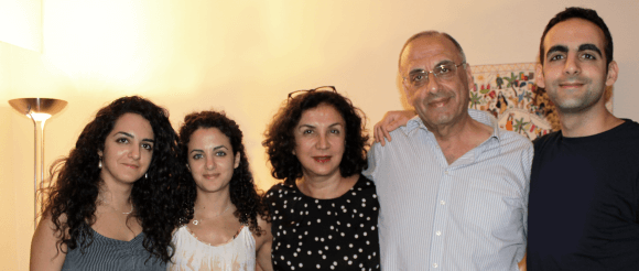 Suheir Azzouni and her family. (Photo: Suheir Azzouni)