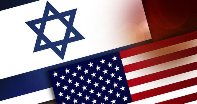 us israel flags