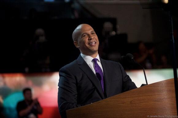 Senator Cory Booker in September 2012. (Photo: Jamelle Bouie/Flickr)