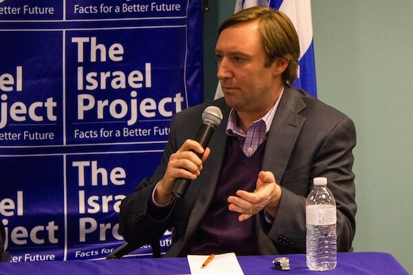 Josh Block, the head of the Israel Project. (Photo: TIP/CC)