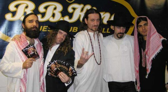 Israeli prog-metal band and Nobel Peace Prize hopefuls Orphaned Land promote coexistence by appropriating Arab dress.