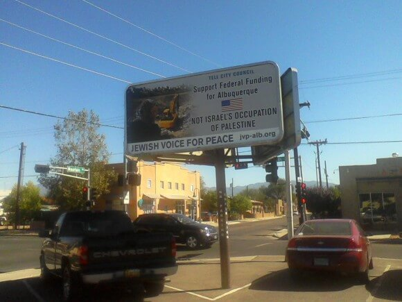 JVP Alb billboard 12th and Mountain (wide)