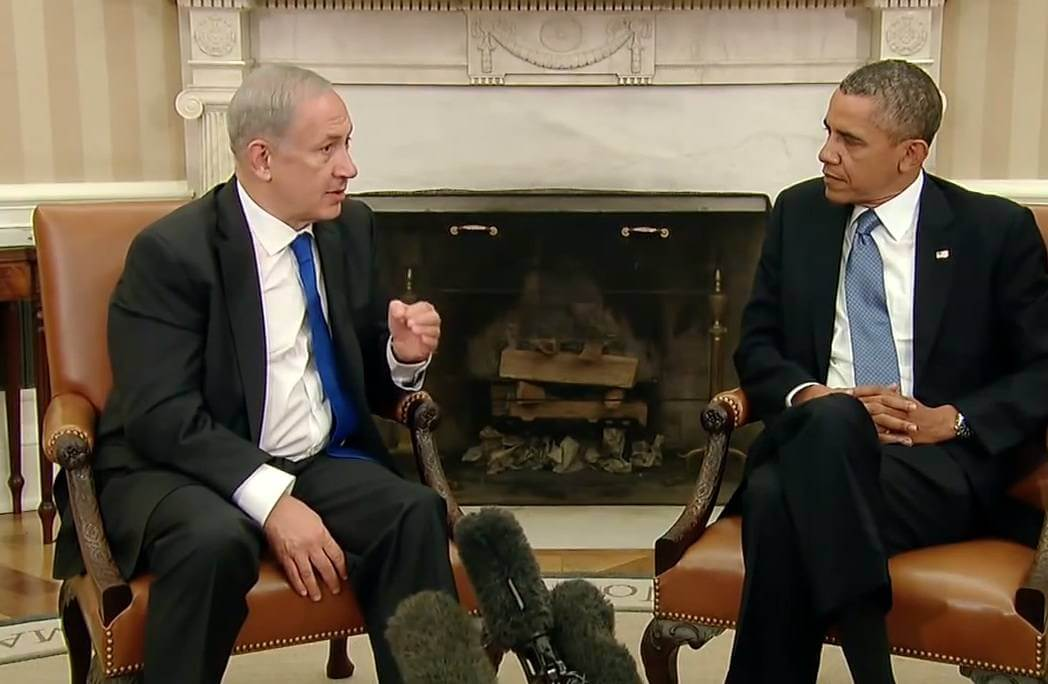 Netanyahu lecturing Obama in 2011