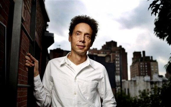 Malcolm Gladwell photographed in New York, 2013 Photo: Dan Callister