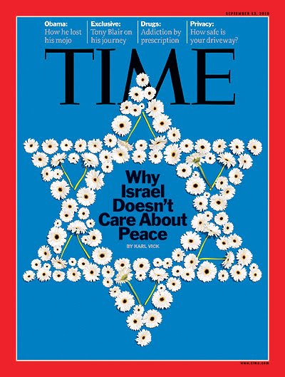 Karl Vick's piece in Time Magazine angered Israel's supporters