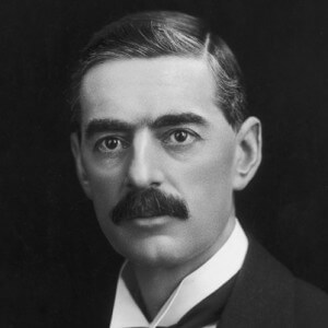 Neville Chamberlain, British PM in 1938 at time of Munich Pact