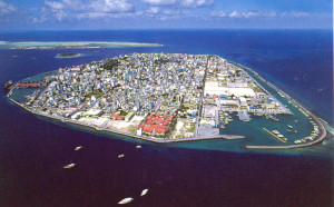 Male, capital of the Maldives