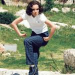 Rethink Israel tweeted this 18-year-ago image of Natalie Portman