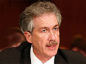 2008-Undersecretary of State for Political Affairs William Burns heads to Geneva to discuss Iran's nuclear program. (Mark Wilson/Getty Images )