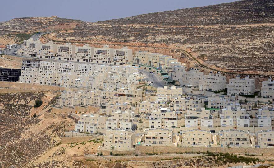 New section of housing in the Jewish settlement of Givat Ze'ev, West Bank, July 17, 2013. (Photo: Debbie Hill/UPI)