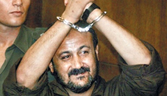 Barghouthi appearing in a Tel Aviv court in 2002. (Photo: AP)