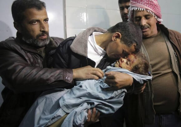 Photo of #HalaAbuSbeikha by Adel Hana in #Gaza. RIP.