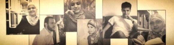 Gaza Writes Back writer's montage