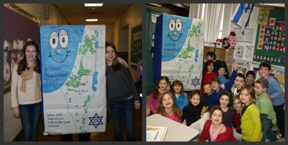 Blue Box Bob visits the Hebrew Academy of Morris Academy.