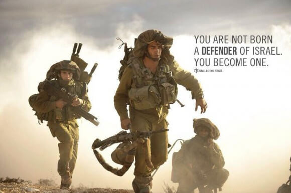 From the IDF twitter feed