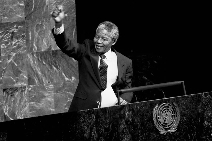 Nelson Mandela addresses the UN's Special Committee Against Apartheid. (UN Photo/Flickr)