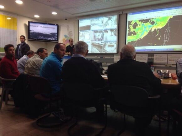 Israeli government situation room