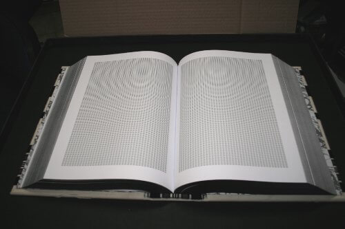 """Book"" with word Jew printed 6 million times"