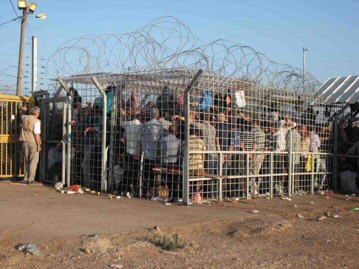 Crushed to death: Palestinian man dies at overcrowded West