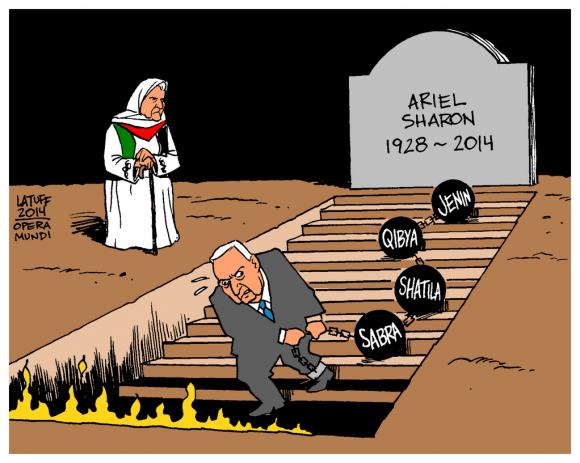 """The Butcher of Sabra & Shatila dies"""