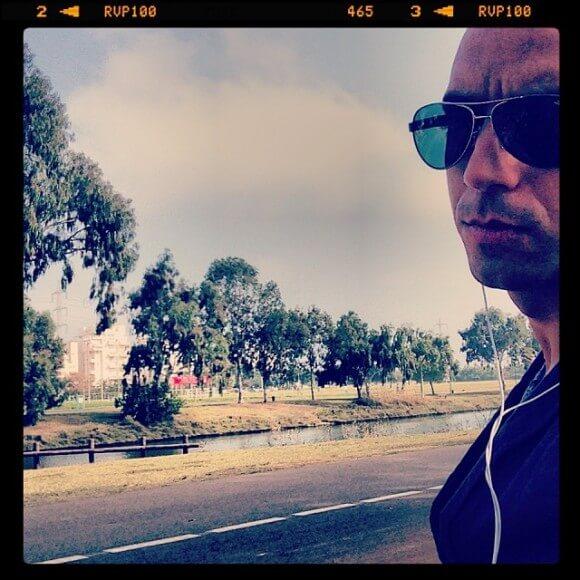 Israeli musician Idan Raichel, from his Instagram account