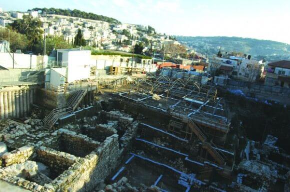 City of David archaeological dig. (Photo: Allison Deger)