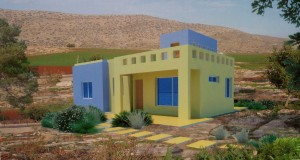 Graphic: Architect Hani Hassan designed energy efficient homes are expandable.