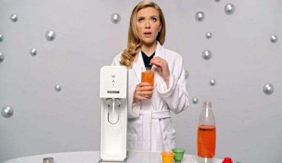 Johansson for SodaStream