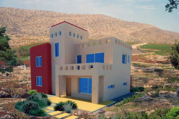 Architect Hani Hassan designed energy efficient homes that are expandable to 2 stories, a good way to care for aging parents someday