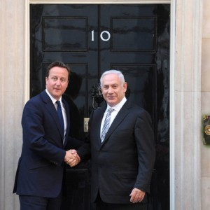 Prime Ministers Netanyahu and Cameron