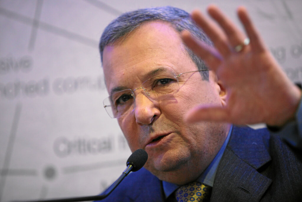 Ehud Barak speaking at the 2012 World Economic Forum. (Photo: World Economic Forum/Flickr)