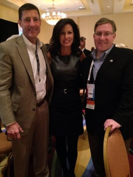 Joel Rosenberg and Will and Penny Nance at AIPAC outreach to Christians event