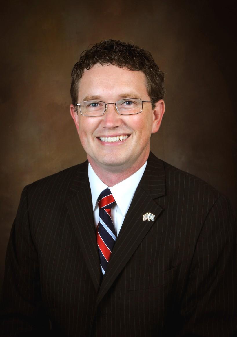 Rep. Thomas Massie, R-Ky, official portrait
