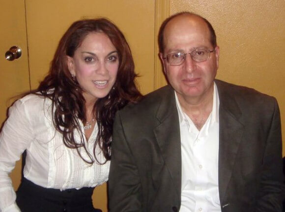 Moshe Ya'alon with Pam Geller from Wikimedia commons