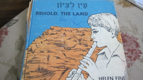 "The cover of Helen Fine's ""Behold the Land"" (Photo: jewishcurrents.org)"