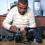 Emad Burnat in 5 Broken Cameras