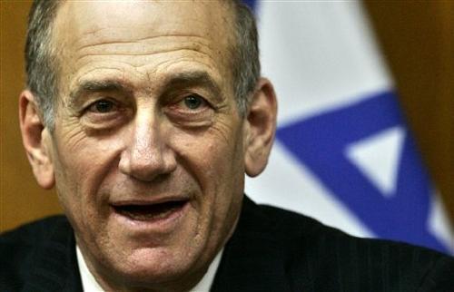 Former Israeli P.M. Ehud Olmert