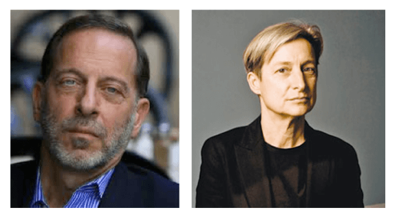 Rashid Khalidi and Judith Butler