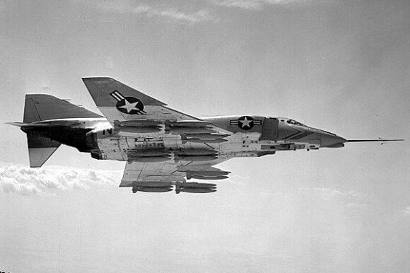 First of the McDonnell F-4 Phantom II Series Boeing