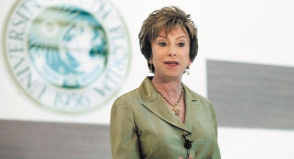 Judy Genshaft President of the University of South Florida in Tampa, 2012  (Photo: Tampa Bay Times)
