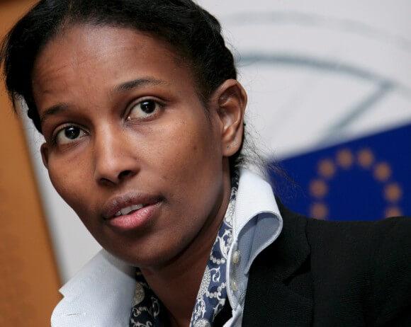 Ayaan Hirsi Ali. (Photo: EPA/OLIVIER HOSLET)