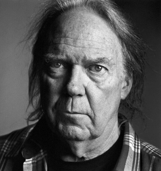 Neil Young (photo: Graeme Mitchell/NYT)