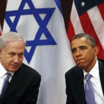 Obama and Netanyahu in unhappier days: 2012