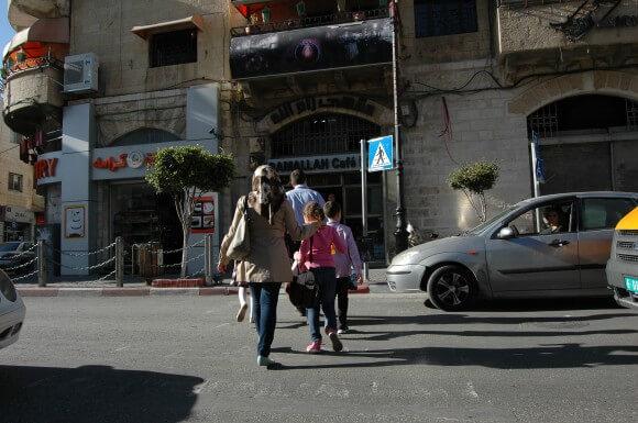 Ramallah Cafe. (Photo: Allison Deger)