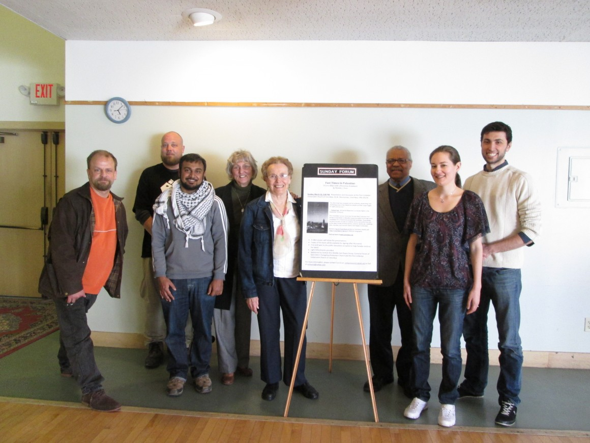 Pamela Olson, second from right