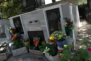 Cemetery in Iqrit. (Photo: Allison Deger)