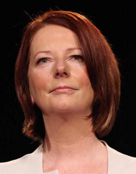 Former Australian PM Julia Gillard