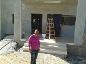 For Sadeq, Land Day was a great day to paint his house